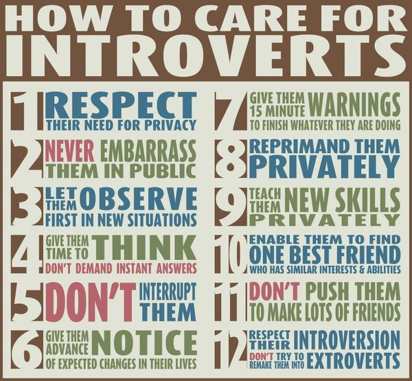 Keeping introverts happy at work