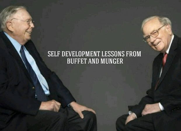 Self Development lessons from Buffet and Munger