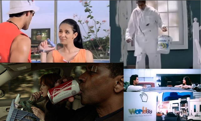 Examples of bad product placements in movies